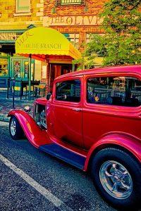 classic, car, vintage